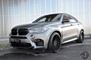 23 Inch Alloy Wheels On The Bmw Hamann X6 M F86