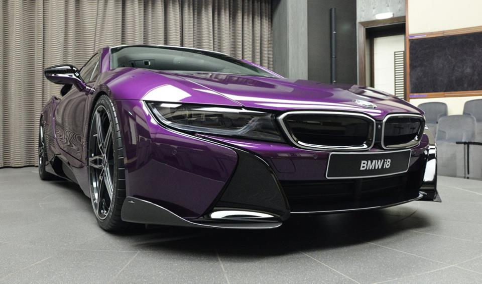 Bmw I8 Ac Goof Bmw I8 Twilight Purple Tuning 9 Tuningblog Eu
