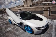 BMW i8 on HRE P101 By HRE Wheels 1 190x126 HRE P101 Performance Wheels auf dem BMW i8