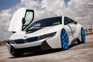 BMW i8 on HRE P101 By HRE Wheels 11 190x126 HRE P101 Performance Wheels auf dem BMW i8