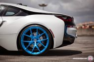 BMW i8 on HRE P101 By HRE Wheels 13 190x126 HRE P101 Performance Wheels auf dem BMW i8