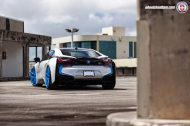 BMW i8 on HRE P101 By HRE Wheels 3 190x126 HRE P101 Performance Wheels auf dem BMW i8