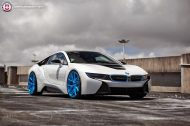 BMW i8 on HRE P101 By HRE Wheels 5 190x126 HRE P101 Performance Wheels auf dem BMW i8