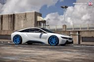 BMW i8 on HRE P101 By HRE Wheels 6 190x126 HRE P101 Performance Wheels auf dem BMW i8