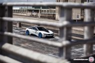 BMW i8 on HRE P101 By HRE Wheels 7 190x126 HRE P101 Performance Wheels auf dem BMW i8
