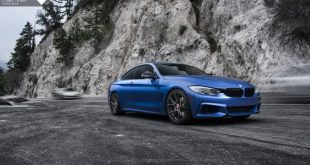 Estoril Blue BMW 4 Series With Vorsteiner Wheels Installed By 5 310x165 BMW 435i in Estoril Blau mit Vorsteiner Wheels in 20 Zoll