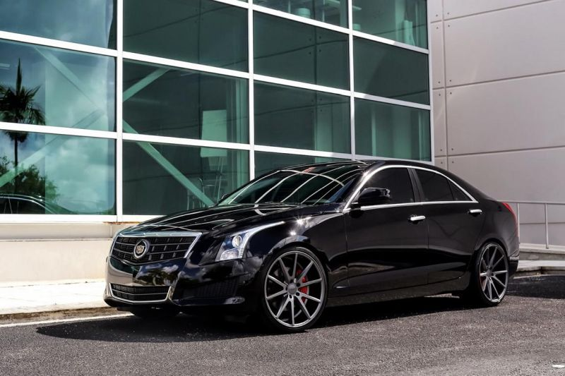 Exclusive Motoring Cadillac ATS on Vossen VFS1 wheels 1 Cadillac ATS mit Vossen VFS1 Wheels von Exclusive Motoring