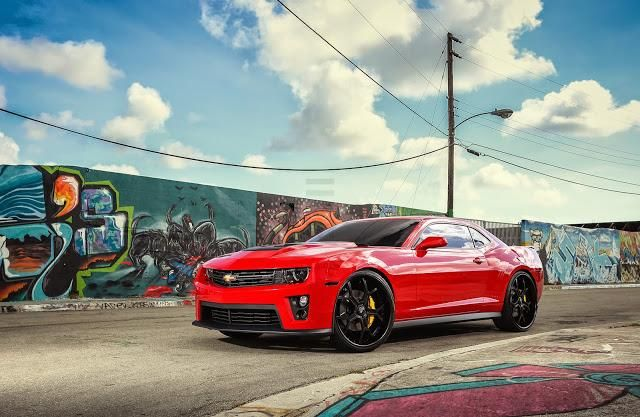 Exclusive Motoring Chevrolet Camaro ZL1 on Forgiato wheels 1 Chevrolet Camaro ZL1 mit Forgiato Wheels by Exclusive Motoring