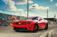 Exclusive Motoring Chevrolet Camaro ZL1 on Forgiato wheels 3 190x124 Chevrolet Camaro ZL1 mit Forgiato Wheels by Exclusive Motoring
