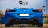 Ferrari 458 Embossed Wrap tuning 8 190x111 Teamarbeit am Ferrari 458   3D Vollfolierung mit Video