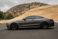 Gunmetal Grey Mercedes S Coupe tuning 2 190x127 Gunmetal graues Mercedes S Klasse 500 Coupe mit Forgiato Wheels