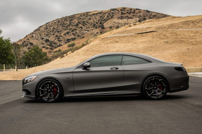 Gunmetal-Grey-Mercedes-S-Coupe-tuning-2