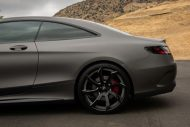 Gunmetal Grey Mercedes S Coupe tuning 3 190x127 Gunmetal graues Mercedes S Klasse 500 Coupe mit Forgiato Wheels