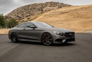 Gunmetal Grey Mercedes S Coupe tuning 4 190x127 Gunmetal graues Mercedes S Klasse 500 Coupe mit Forgiato Wheels