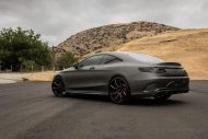 Gunmetal Grey Mercedes S Coupe tuning 6 190x127 Gunmetal graues Mercedes S Klasse 500 Coupe mit Forgiato Wheels