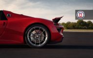 HRE Red Porsche 918 tuning wheels 10 190x119 HRE Performance Wheels auf dem Porsche 918 Spyder