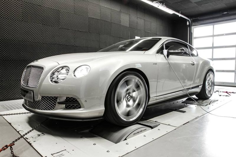 Mcchip Bentley Continental GT tuning 1 Mcchip DKR tunt den Bentley Continental GT W12 auf 655 PS