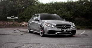 Mercedes Benz E63 AMG On PUR LX04.V3 By PUR Wheels 1 310x165 PUR LX04.V3 Wheels auf dem Mercedes Benz E63 AMG