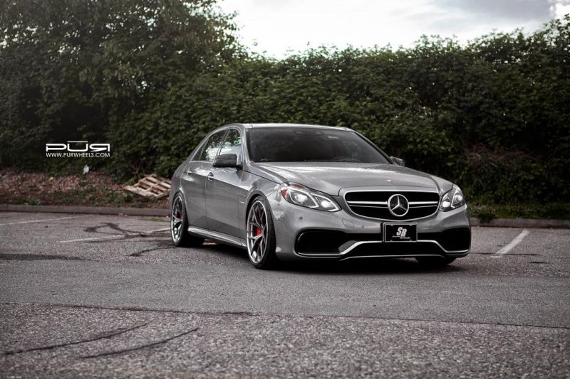 Mercedes-Benz-E63-AMG-On-PUR-LX04.V3-By-PUR-Wheels-1