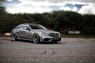 Mercedes Benz E63 AMG On PUR LX04.V3 By PUR Wheels 2 190x127 PUR LX04.V3 Wheels auf dem Mercedes Benz E63 AMG