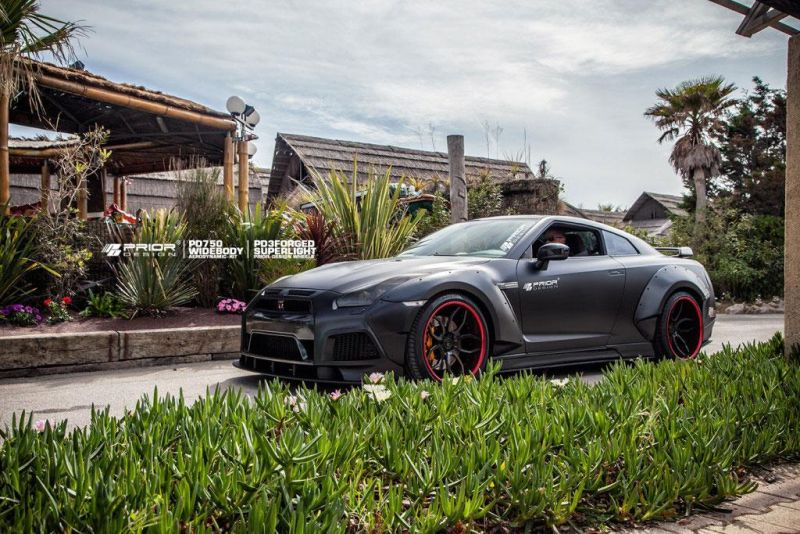 Nissan GT R Prior Design PD750 Widebody 2015 tuning 10 Prior Design NISSAN GT R PD750 im Widebody Style