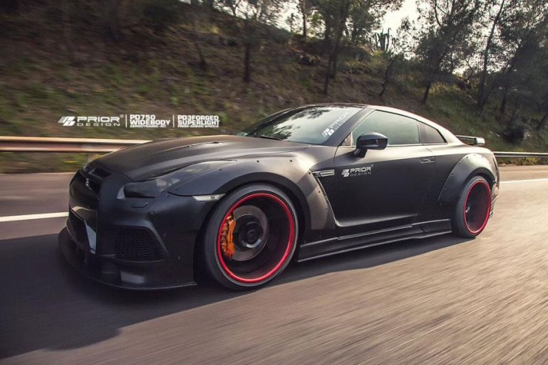 Nissan GT R Prior Design PD750 Widebody 2015 tuning 3 Prior Design NISSAN GT R PD750 im Widebody Style