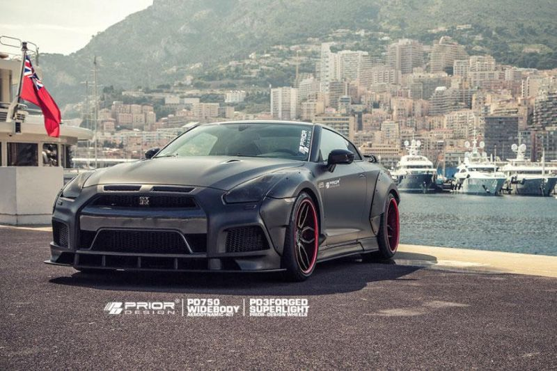 Nissan GT R Prior Design PD750 Widebody 2015 tuning 6 Prior Design NISSAN GT R PD750 im Widebody Style