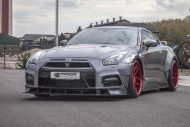 PD750 Prior new pics nissan 1 190x127 Prior Design NISSAN GT R PD750 im Widebody Style