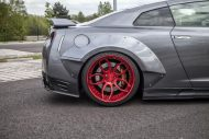 PD750 Prior new pics nissan 10 190x127 Prior Design NISSAN GT R PD750 im Widebody Style