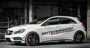 Performmaster Mercedes A 45 AMG fotoshow 1 310x165 Performmaster tunt den Mercedes A 45 AMG auf 410 PS