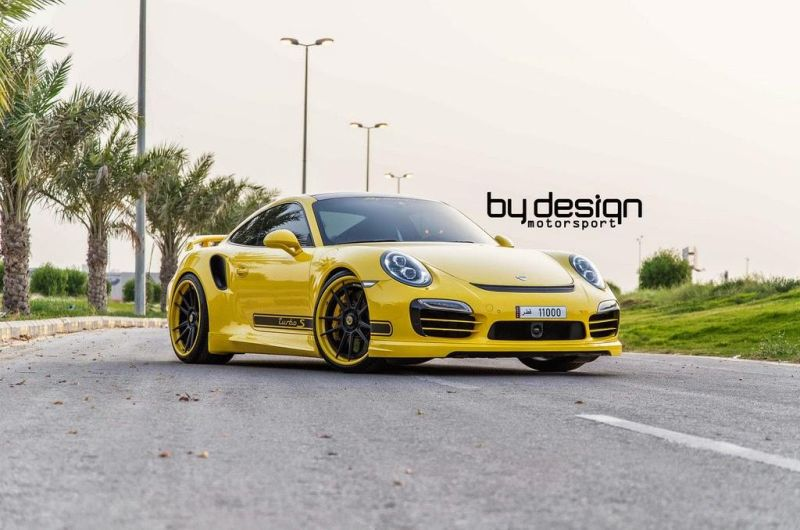Porsche 991 Turbo S by By Design Motorsports 1 Das gelbe vom Ei? ByDesign Motorsport Porsche 911 Turbo S