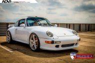 Porsche 993 Turbo ADV1 tuning 2 190x127 Klassischer Porsche 993 Turbo mit ADV.1 Wheels Alufelgen