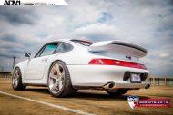 Porsche 993 Turbo ADV1 tuning 3 190x127 Klassischer Porsche 993 Turbo mit ADV.1 Wheels Alufelgen