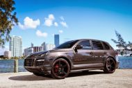 Porsche Design Cayenne GTS On Niche Road wheels 5 190x127 Porsche Cayenne GTS mit 22 Zoll Niche Road Wheels von Exclusive Motoring