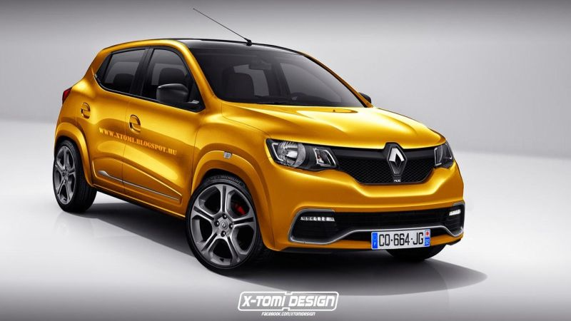 Renault kwid rs tuning 1 X Tomi Design zeigt uns seine Renault Kwid RS Vision