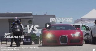Unnamed 2345346544236547423748 1 310x165 Video: Dragerace Kawasaki H2R against Bugatti Veyron Supercar