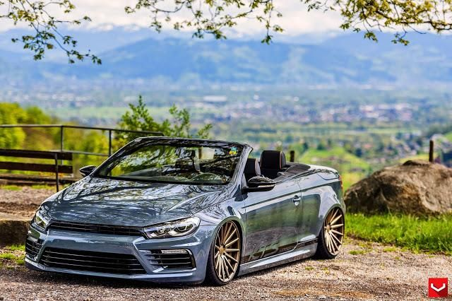 Volkswagen EOS On VFS2 By Vossen Wheels 2 Gesichtertausch: Face Off   Der Front Swap am Auto!