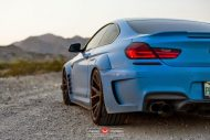 Yas Marina Blue BMW F12 650i by Prior Design Widebody Project 13 190x127 BMW 650i F12 mit Prior Design Bodykit und Vossen Wheels