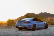 Yas Marina Blue BMW F12 650i by Prior Design Widebody Project 5 190x127 BMW 650i F12 mit Prior Design Bodykit und Vossen Wheels