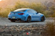 Yas Marina Blue BMW F12 650i by Prior Design Widebody Project 6 190x127 BMW 650i F12 mit Prior Design Bodykit und Vossen Wheels