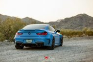 Yas Marina Blue BMW F12 650i by Prior Design Widebody Project 8 190x127 BMW 650i F12 mit Prior Design Bodykit und Vossen Wheels