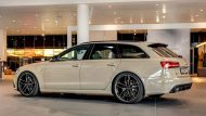 audi rs6 avant in mocha latte 4 190x107 Schicker Audi RS6 Facelift in Mokka Latte Beige