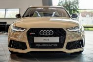 audi rs6 avant in mocha latte 7 190x127 Schicker Audi RS6 Facelift in Mokka Latte Beige