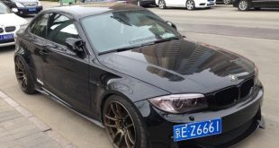 bmw 1m china black tuning 1 310x165 Böses BMW 1er Series M Coupe Black Beast in China