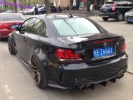 bmw 1m china black tuning 3 190x144 Böses BMW 1er Series M Coupe Black Beast in China