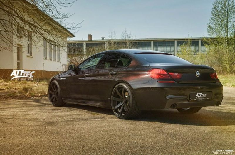 schickes bmw 6er gran coup vom tuner att tec gmbh der tuning und styling blog. Black Bedroom Furniture Sets. Home Design Ideas