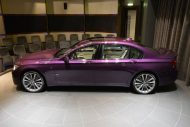 bmw 760 li wearing purple and a v12 1 190x127 BMW F02 760 LI V12   Langversion in Lila & Beige