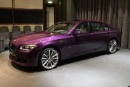 bmw 760 li wearing purple and a v12 2 190x127 BMW F02 760 LI V12   Langversion in Lila & Beige