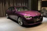 bmw 760 li wearing purple and a v12 3 190x127 BMW F02 760 LI V12   Langversion in Lila & Beige