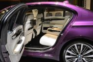 bmw 760 li wearing purple and a v12 5 190x127 BMW F02 760 LI V12   Langversion in Lila & Beige